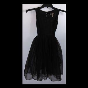 Black Fancy Girls Dress Size 10